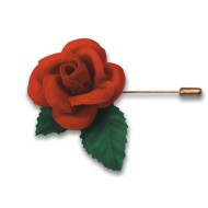 Mini Rose Pin (Pack of 24)