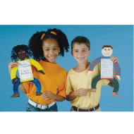 EduCraft® Scholastic All About Me Dolls Craft Kit (Pack of 24)