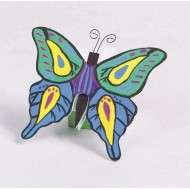 Unfinished Wooden Butterflies (Pack of 12)