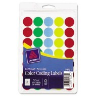 Translucent Color Coding Labels