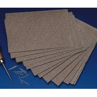 Sandpaper 100 Grit Medium Grain (Pack of 12)