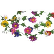 Multi Color Daisy Garland, 6'