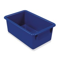 Blue Cubbie Storage Tote Tray, 8-5/8