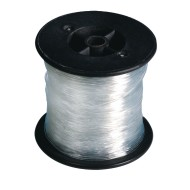 Clear Stretchy Jewelry Cord, 100m (328 ft) spool