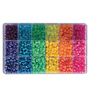 Sparkle And Brights Pony Bead Box Set - Image 1 of 1