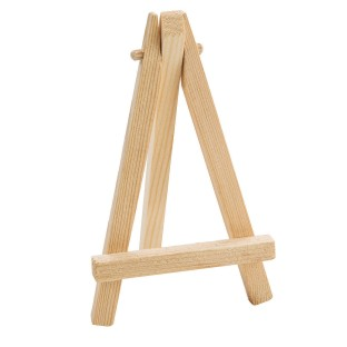 Mini Wooden Easel (Pack of 24) - Image 1 of 1