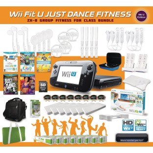 Wii™ Fit U Just Dance Group Fitness Pack for 8 - Image 1 of 1