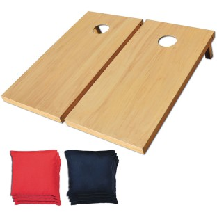 Official Wooden Cornhole Game Set - Image 1 of 2