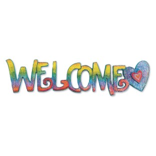 Welcome Sign - Image 1 of 1