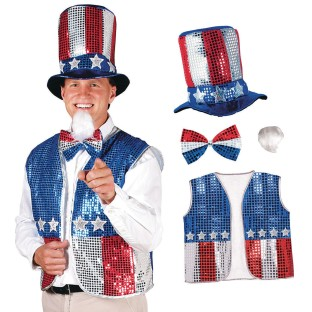 Uncle Sam Outfit - Image 1 of 1