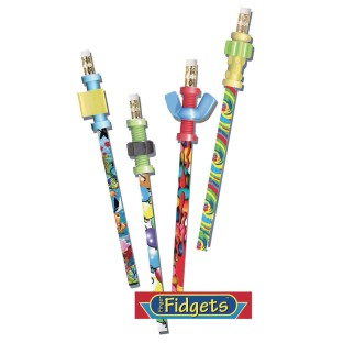 Pencils with Fidget Toppers - Image 1 of 1