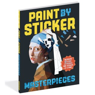 Paint By Sticker® Masterpieces Book - Image 1 of 1