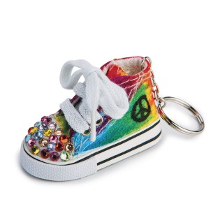 Color-Me™ Sneaker Key Ring - Image 1 of 3