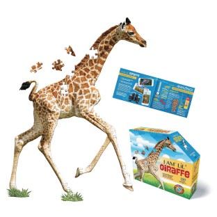 I Am Lil' Giraffe 100-Piece Jigsaw Puzzle - Image 1 of 1