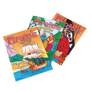 Mini Pirate Coloring Books - Image 1 of 1