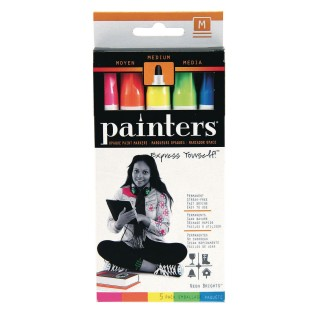 Elmer's® Painters Neon Paint Markers - Image 1 of 1
