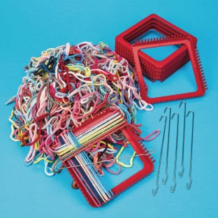 Loops and Looms Activity Pack - Image 1 of 1
