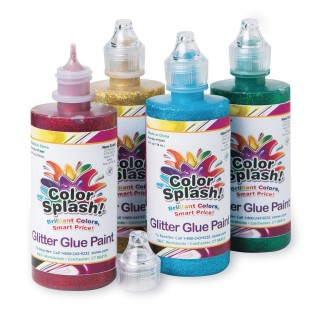 4-oz. Color Splash Glitter Glue Assortment - Image 1 of 1
