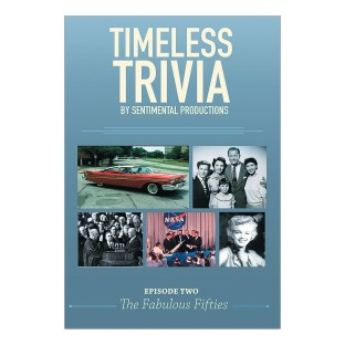 Timeless Trivia DVD - Episode 2 - The Fabulous Fifties - Image 1 of 2
