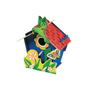 Wooden Birdhouse Craft Kit - Image 1 of 2
