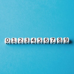 Single Number Beads - Image 1 of 1