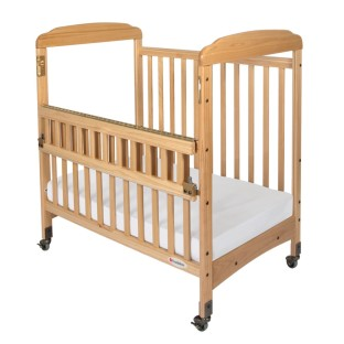 Serenity™ SafeReach™ Compact Crib with Clear-View Ends - Image 1 of 2