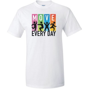 Move Every Day T-Shirt - Image 1 of 1