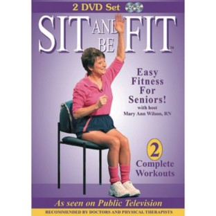 Sit and Be Fit 2-DVD Set - Image 1 of 1