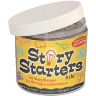 Story Starters in a Jar - Image 1 of 1