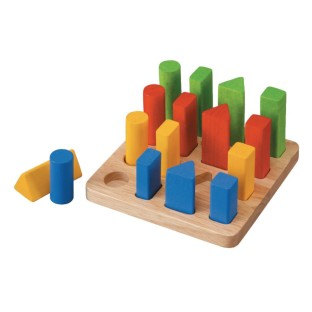 Plan Toy Geometric Sorting Board - Image 1 of 1
