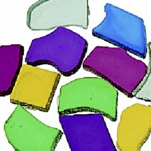 Plastic Mosaic Tiles, 1-lb. Bag - Image 1 of 1