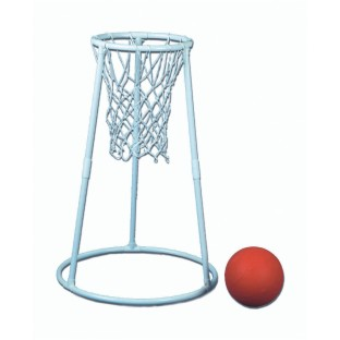 Deluxe Plastic Floor Basketball Set - Image 1 of 1