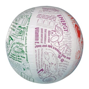 Toss 'n Talk-About® Nutrition Ball - Image 1 of 1