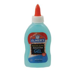 4-oz. Elmer's® Blue School Glue, No Run Gel - Image 1 of 1