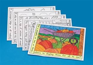 Thanksgiving Coloring Placemats - Image 1 of 1