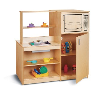 Jonti Craft® Baltic Birch Mobile Kitchen Island - Image 1 of 3