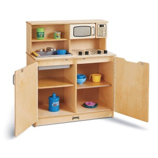 Jonti-Craft® Baltic Birch 4-in-1 Chef's Play Kitchen - Image 1 of 3