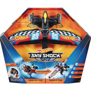 Hot Wheels® RC Sky Shock™ RC Combo Car and Plane - Image 1 of 2
