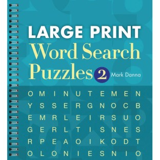 Large Print Word Search Puzzle Book Vol. 2 - Image 1 of 1