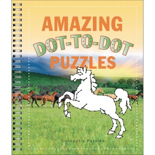 Amazing Dot-To-Dot Puzzle Book - Image 1 of 1