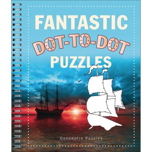 Fantastic Dot-to-Dot Puzzle Book - Image 1 of 1
