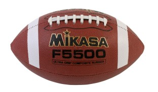 Mikasa Stitched Rubber Football - Image 1 of 2