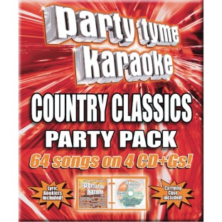 Party Tyme Karaoke Music (Pack of 4) - Image 1 of 1
