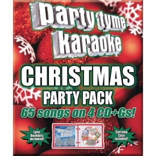 Party Tyme Karaoke CD+G Christmas Party Pack - Image 1 of 1