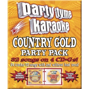 Party Tyme CD+G Country Gold Party Pack - Image 1 of 1