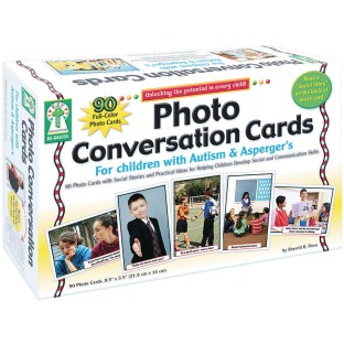 Photo Conversation Cards For Children with Autism & Asperger's - Image 1 of 3