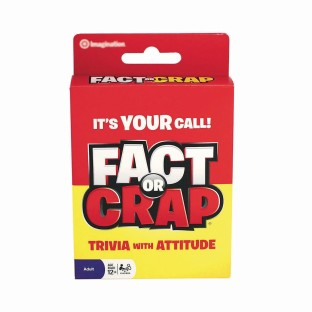 Fact Or Crap Card Game - Image 1 of 1