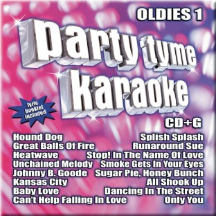 Party Tyme Karaoke CD+G Oldies 1 - Image 1 of 1