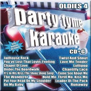 Party Tyme Karaoke CD+G Oldies 4