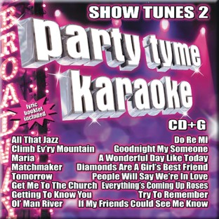 Party Tyme Karaoke CD+G Show Tunes 2 - Image 1 of 1